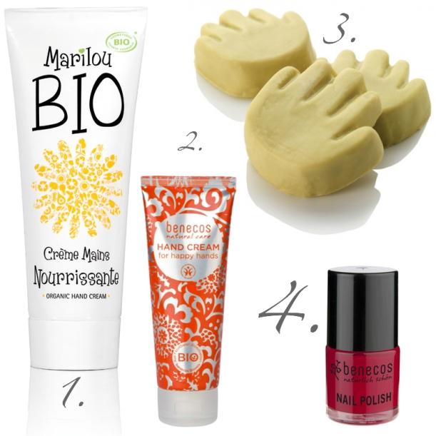 ideas de regalo para amigo invisible menos de 10€ cuidados manos ecológico bio orgánico cosmética natural