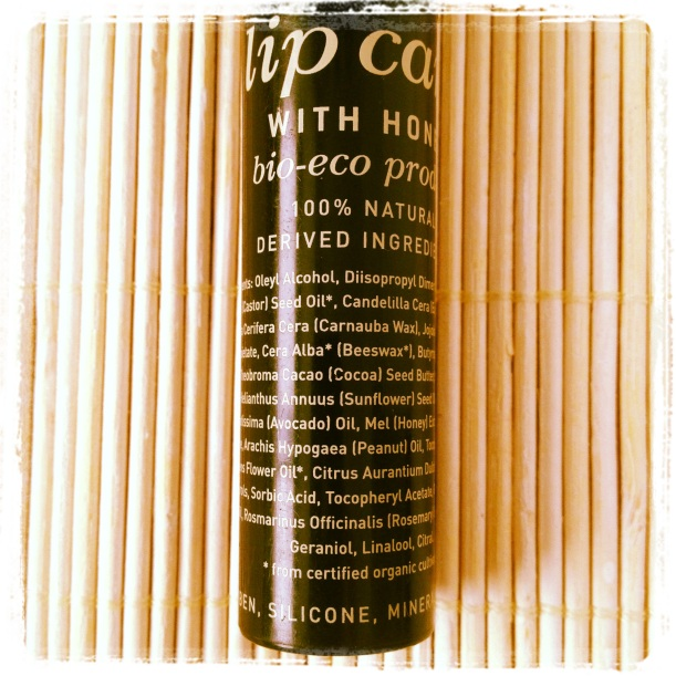 Apivita bio-eco lipcare with Honey bálsamo labial con miel certificado orgánico composición INCI