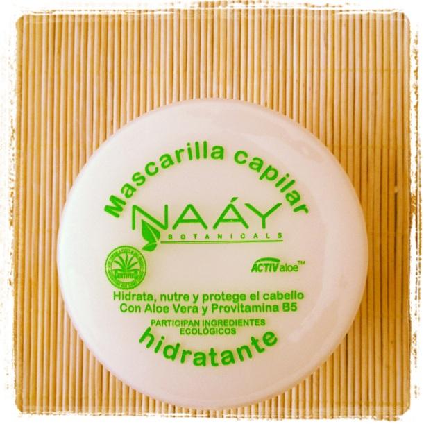 Naay Botanicals Mascarilla capilar hidratante