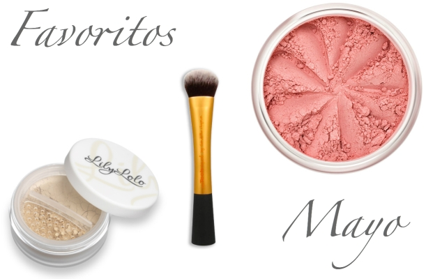 Favoritos cosmética ecológica Mayo 2013, maquillaje mineral Lily Lolo y brocha Real Techniques, cruelty-free