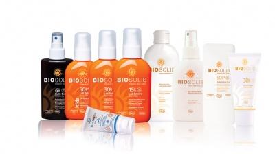 Solares BioSolis, con filtros minerales, protección solar orgánica, certificada Ecocert