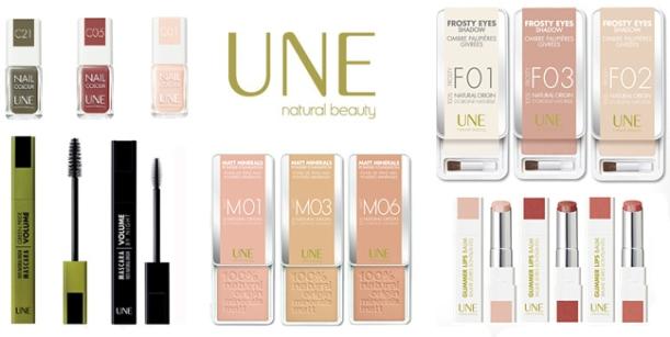 Maquillaje UNE Natural Beauty, marca favorita de maquillaje natural y bio, certificado Ecocert