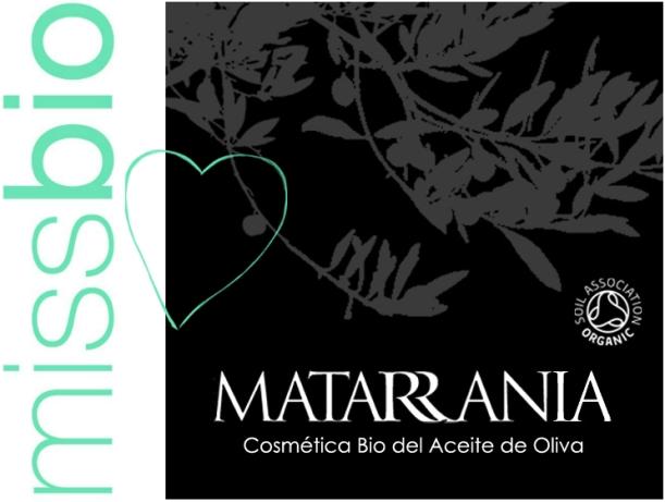 Colaboración Miss Bio Matarrania, cosmética orgánica, bio, ecológica certificada por la Soil Association