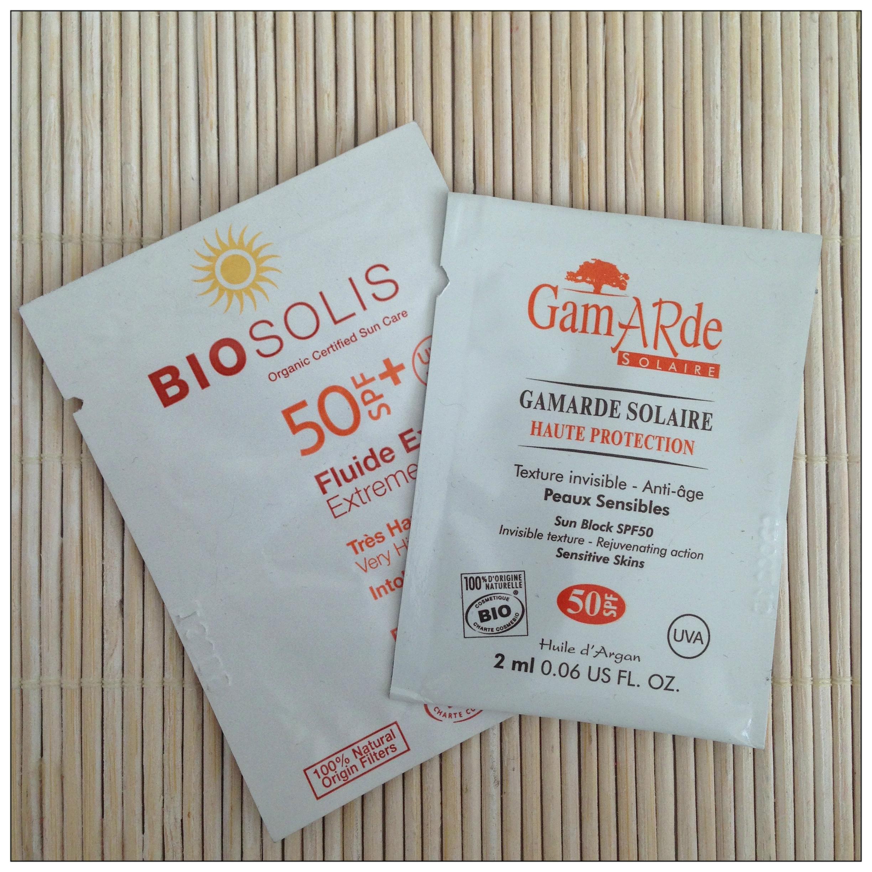 protectores solares minerales SPF50, cosmética bio, BioSolis y Gamarde